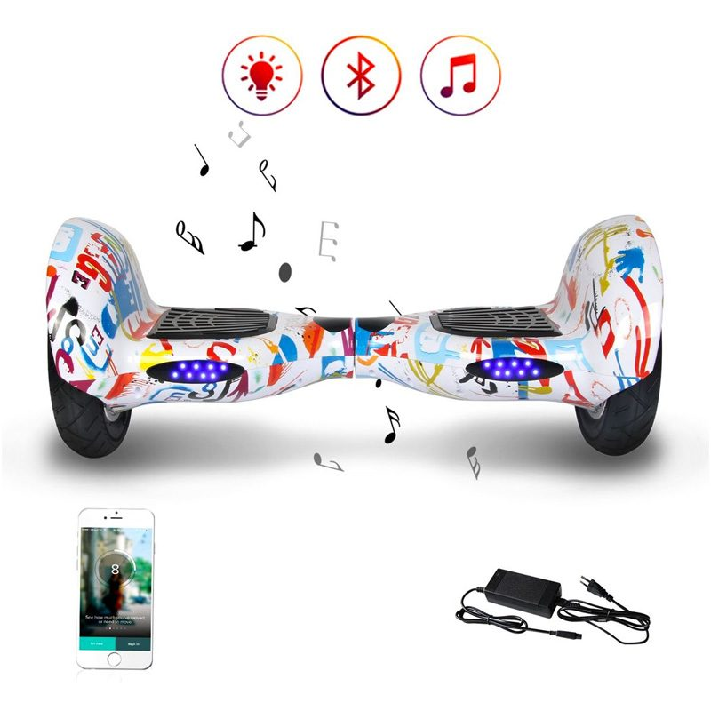 RideOn-Off-Road-Hoverboard-10-Inch-Bluetooth-Graffiti-3
