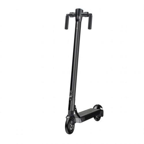 Elektrische Step Spoover - E-Scooter - Inklapbaar - Max Snelheid 25Km/H -30KM Bereik - Voetrem - E-Step - Inclusief App - Zwart - *Nieuw Model*