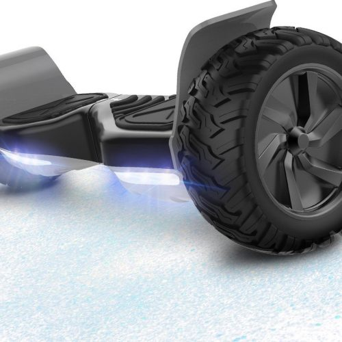 Evercross Challenger Basic 8.5 inch SUV Hoverboard 700W Motion V.12 Bluetooth speakers en met TAOTAO moederbord - Zwart