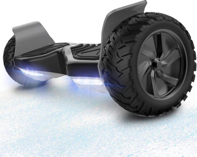 Evercross Challenger Basic 8.5 inch SUV Hoverboard 700W Motion V.12 Bluetooth speakers en met TAOTAO moederbord - Zwart