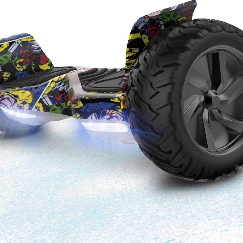 Evercross Challenger Basic Best 8.5 inch SUV Hoverboard 700W Motion V.12 Bluetooth speakers en met TAOTAO moederbord - Hiphop