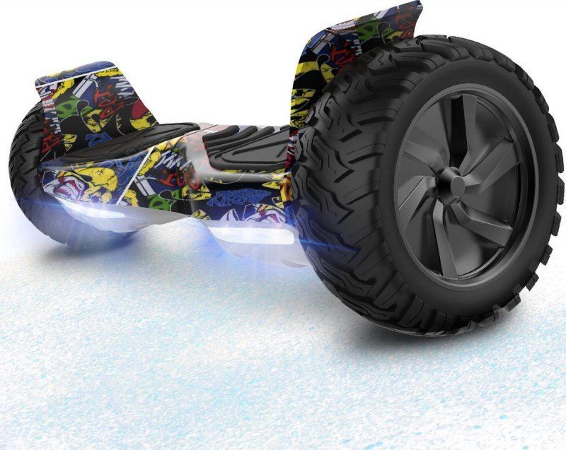 Evercross Challenger Basic Best 8.5 inch SUV Hoverboard 700W Motion V.12 Bluetooth speakers en met TAOTAO moederbord - Hiphop