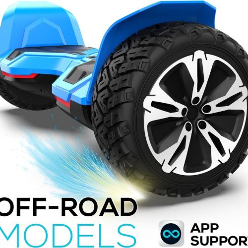 Hoverboard | GYROOR | Off-Road Hoverboard | 8.5 Inch wielen | Self Balance Hoverboard | Bluetooth Speakers | Oxboard | Blauw