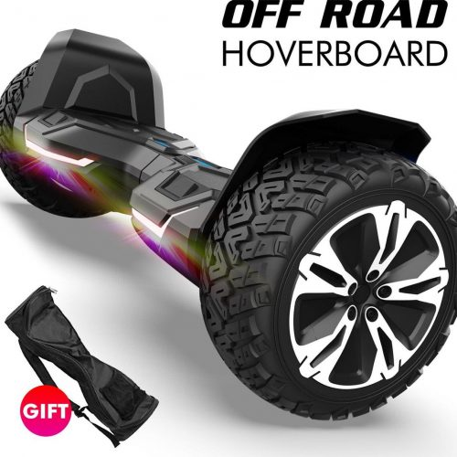 Hoverboard | GYROOR | Off-Road Hoverboard | 8.5 Inch wielen | Self Balance Hoverboard | Bluetooth Speakers | Oxboard | Zwart