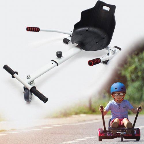 Hoverboard kart wit - hoverkart