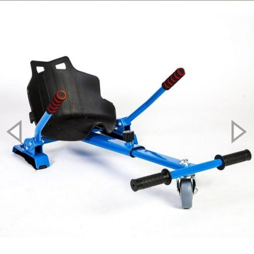 Hoverkart oxboard kart geschikt voor alle karts blauw frame met zwart kuipstoeltje