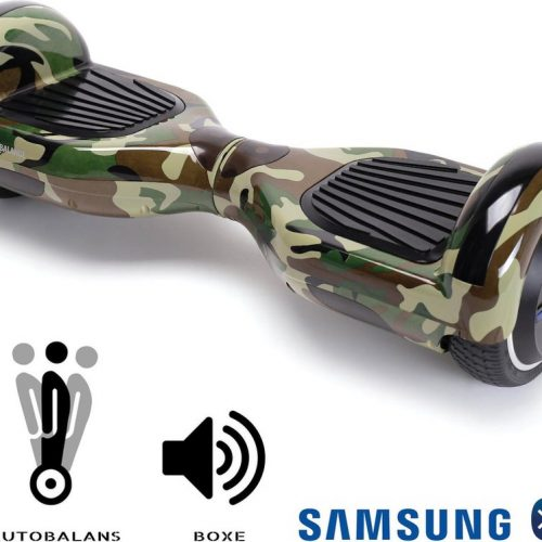Smart Balance™ Hoverboard 6.5 inch, Regular Camouflage, Motor 700 Wat, Bluetooth, LED