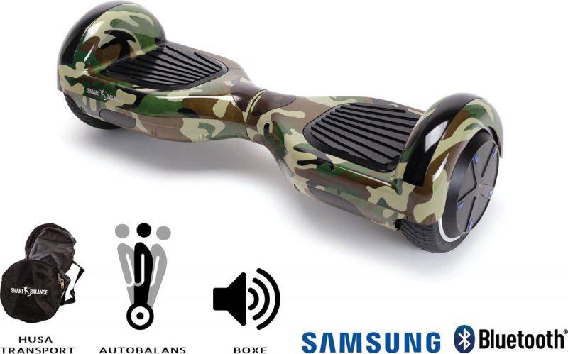 Smart Balance™ Hoverboard 6.5 inch, Regular Camouflage, Motor 700 Wat, Bluetooth, LED