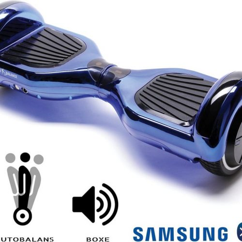 Smart Balance™ Hoverboard 6.5 inch, Regular ElectroBlue, Motor 700 Wat, Bluetooth, LED