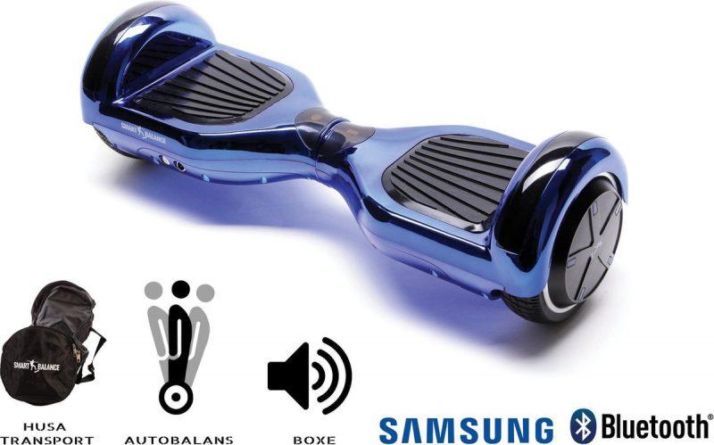 Smart Balance™ Hoverboard 6.5 inch, Regular ElectroBlue, Motor 700 Wat, Bluetooth, LED