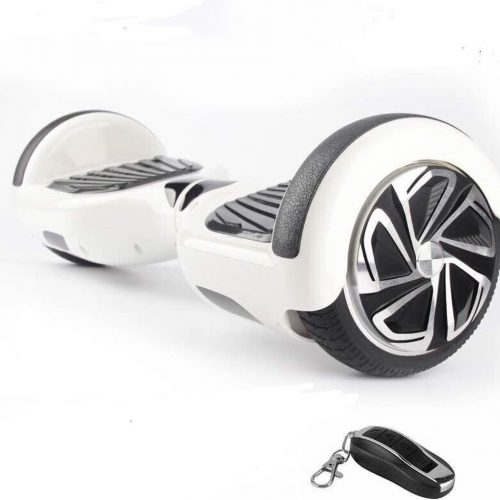 The Scootershop - 350 Watt Hoverboard met afstandsbediening - 6,5 inch - Wit