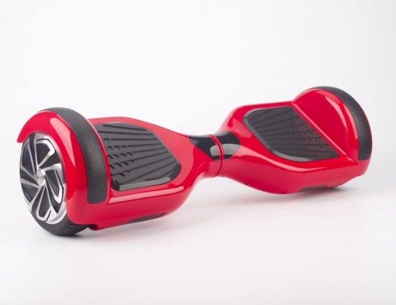 The Scootershop Hoverboard, ROOD, TaoTao, Samsung, Led verlichting.