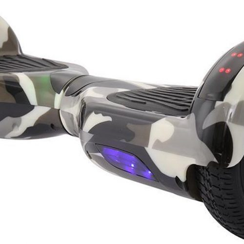 Hoverboard | 6.5 Inch Wielen | Self Balance Hoverboard | Oxboard | Bluetooth Speakers | Camouflage