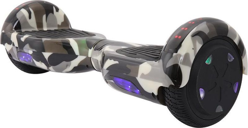 Hoverboard   6.5 Inch Wielen   Self Balance Hoverboard   Oxboard   Bluetooth Speakers   Camouflage