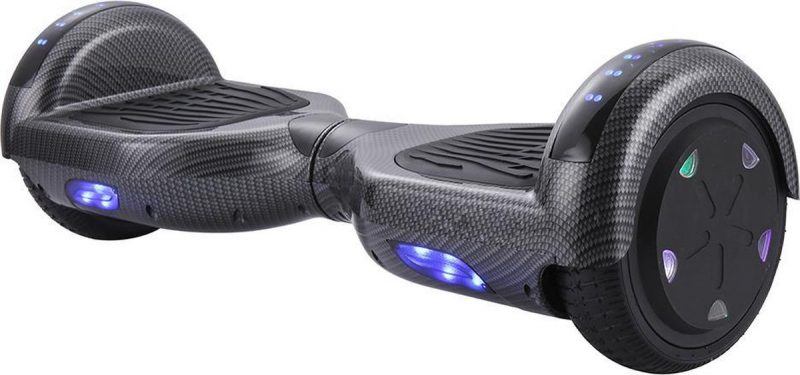 Hoverboard   6.5 Inch Wielen   Self Balance Hoverboard   Oxboard   Bluetooth Speakers   Carbon