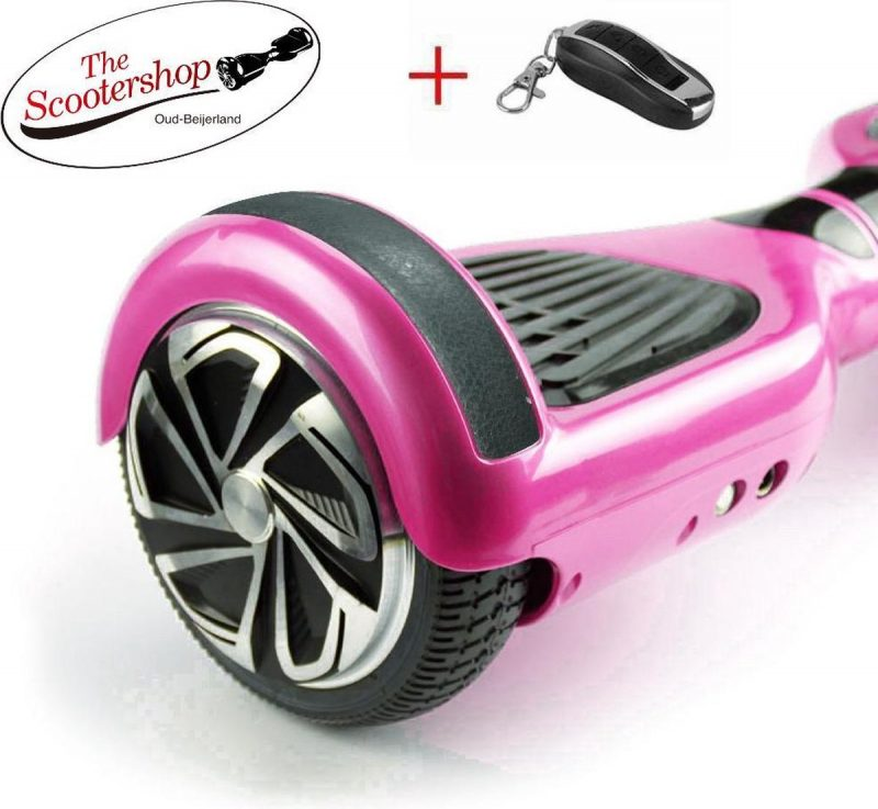 The Scootershop 20cell SAMSUNG & TAOTAO - 700Watt Hoverboard met Led & afstandsbediening -ROSE