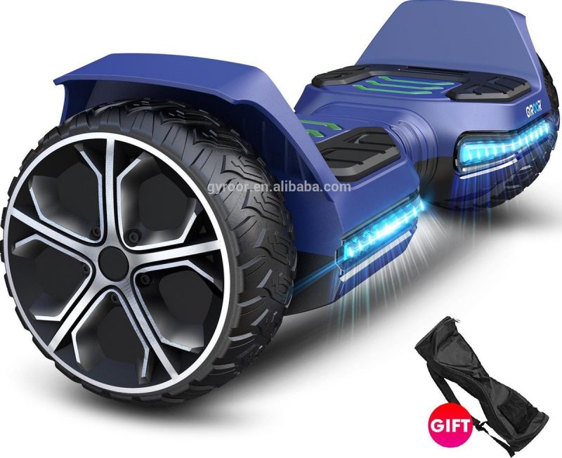 Hoverboard | GYROOR G5 | Off-Road Hoverboard | 6.5 Inch wielen | Self Balance Hoverboard | Bluetooth Speakers | Oxboard | Blauw