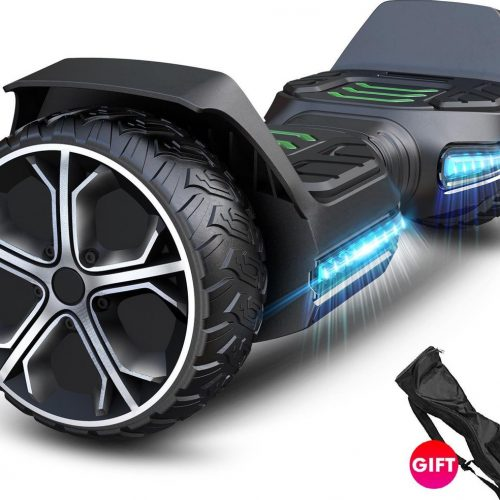 Hoverboard | GYROOR G5 | Off-Road Hoverboard | 6.5 Inch wielen | Self Balance Hoverboard | Bluetooth Speakers | Oxboard | Zwart