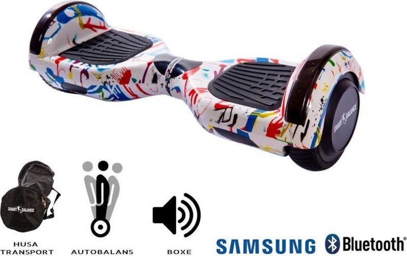 Smart Balance™ Hoverboard 6.5 inch, Regular Splash, Motor 700 Wat, Bluetooth, LED