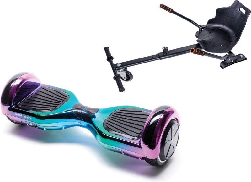 Smart Balance Hoverboard - 6.5 inch Regular Dakota met hoverkart