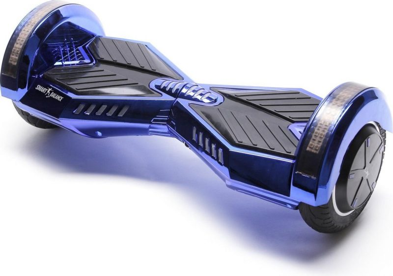 Smart Balance Hoverboard 6.5 inch, Transformers ElectroBlue, Motor 700 Wat, Bluetooth, LED