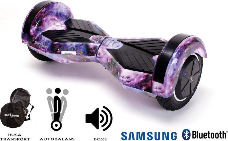 Smart Balance Hoverboard 6.5 inch, Transformers Galaxy, Motor 700 Wat, Bluetooth, LED