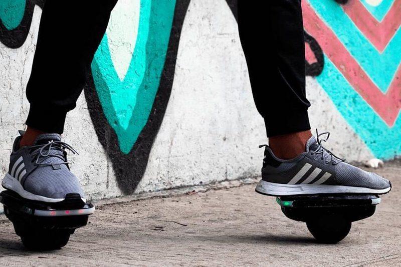 CITY BLITZ balance shoes E-board 2 X 250 Watt 12 km/h -(36V/2.0Ah)