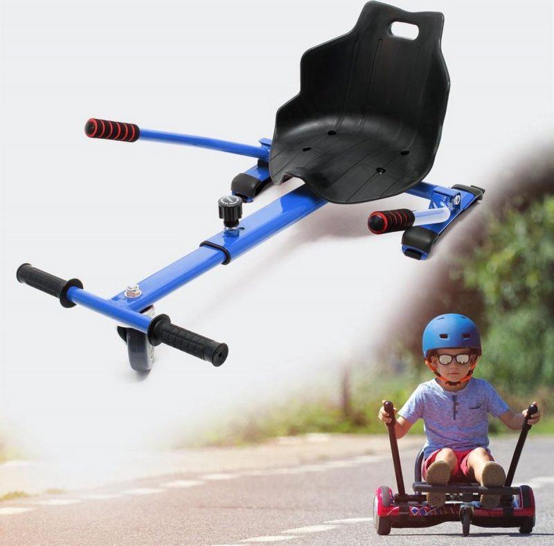 Hoverboard kart blauw - hoverkart