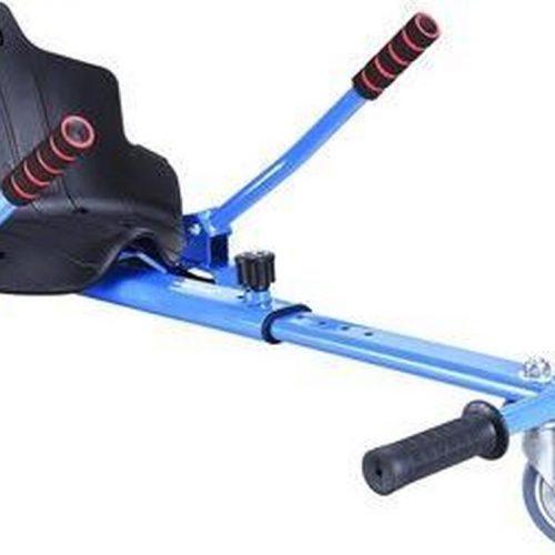 Hoverkart - Hoverseat voor Hoverboard - Blauw met Zwart