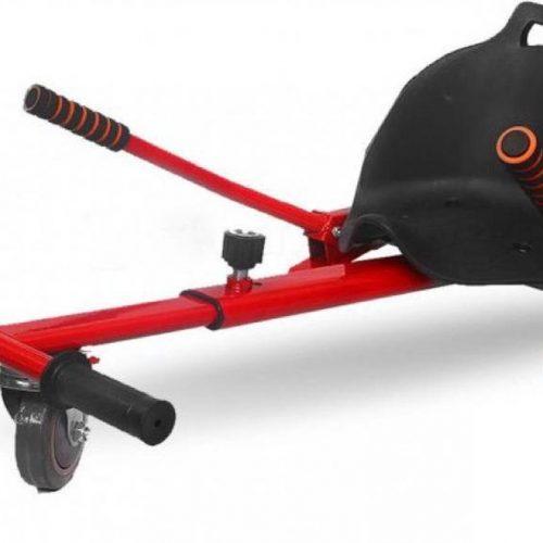 Hoverkart - Hoverseat voor Hoverboard - Rood met Zwart