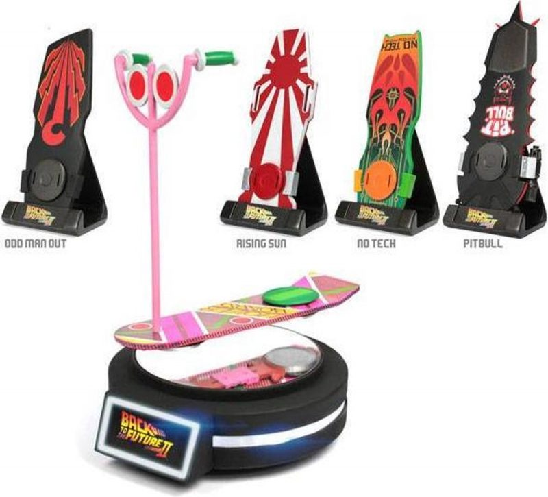 BACK TO THE FUTURE - Hoverboard Magnetic Floating Edition