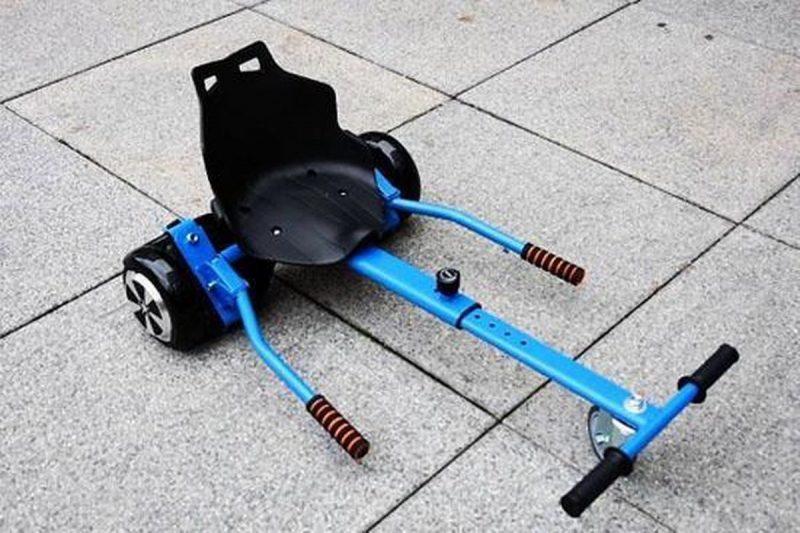 Hoverboard Hoverkart / Hoverseat / Go Kart voor de hoverboard - simpel en snel te bevestigen / Balance Scooter / Zelfbalancerende Scooter - Blauw