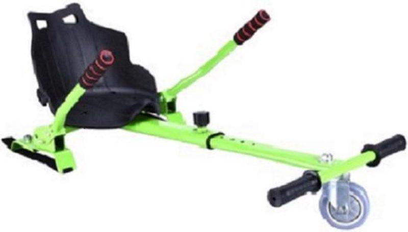 Hoverkart oxboard kart geschikt voor alle hoverboard, groen frame met zwart kuipstoeltje - buiten speelgoed - board - kar - kinder speelgoed - zeer stevig -