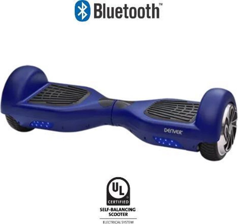 Denver DBO-6500 MK3 Hoverboard Blauw - 6.5 inch