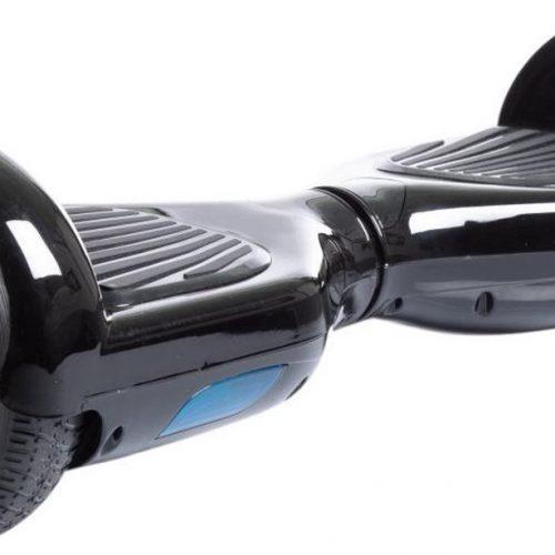 """Denver DBO-6550 MK2 / Hoverboard / 6.5"""" wielformaat / Extra Grip / Balanssysteem / LED verlichting / 360° draaien / Zwart"""