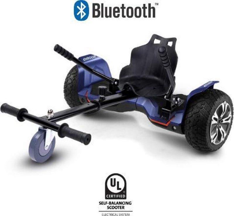 Hoverboard met Hoverkart |8.5 Inch Wielen | Oxboard | Elektrische Step Alternatief | Gyroor G2 Blauw