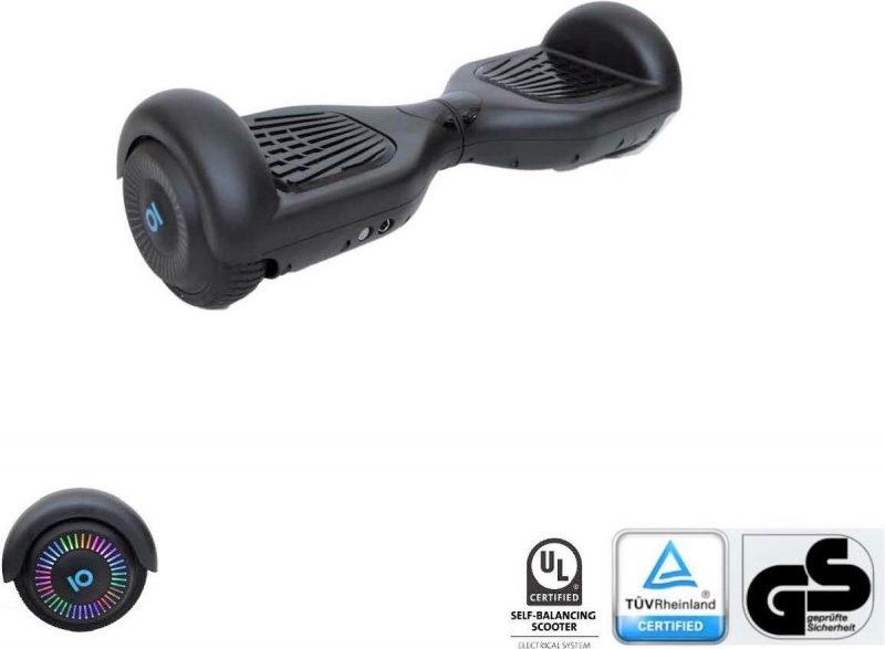I-CIGO - Original - Hoverboard 6,5inch - Flits wielen - Mate Zwart