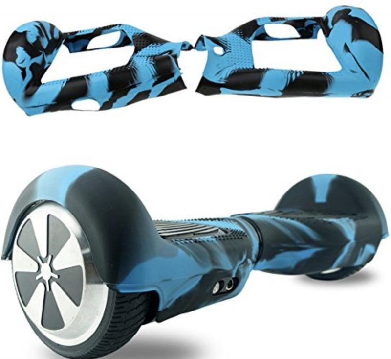 Hoverboard beschermhoes - camouflage blauw/zwart