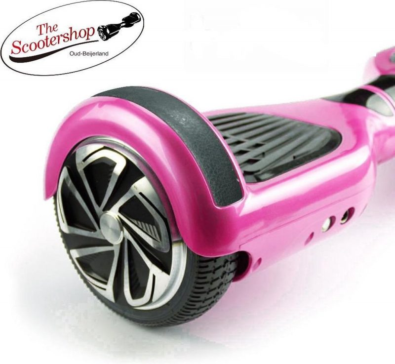 The SCOOTERSHOP Hoverboard ROSE, TAOTAO, SAMSUNG, Led verlichting, Aluminium Design velgen, Rubberen bumpers