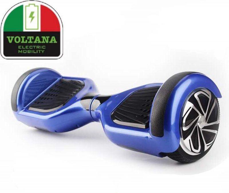 VOLTANA Hoverboard BLAUW, TAOTAO, SAMSUNG, Led verlichting, Aluminium Design velgen, Rubberen bumpers