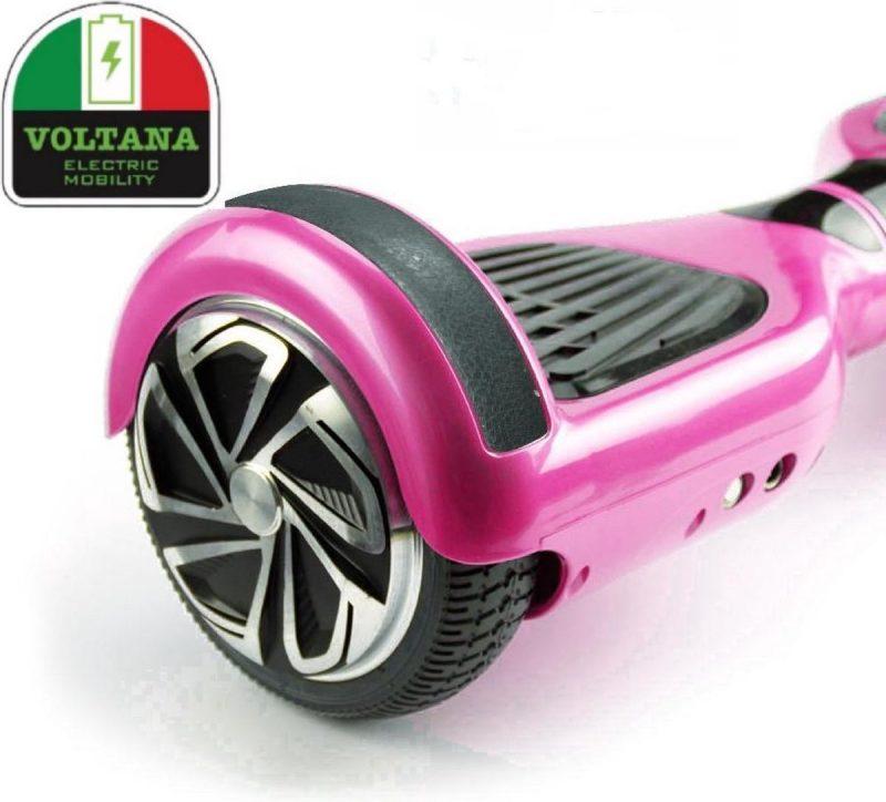 VOLTANA Hoverboard ROSE, TAOTAO, SAMSUNG, Led verlichting, Aluminium Design velgen, Rubberen bumpers