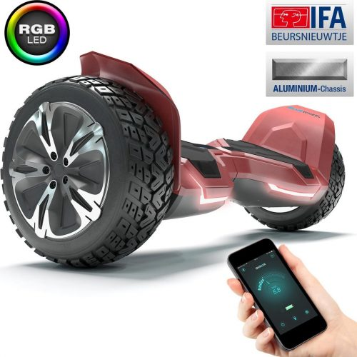 """8.5"""" Premium Hoverboard Bluewheel HX510-Duits kwaliteitsmerk-Bluetooth"""