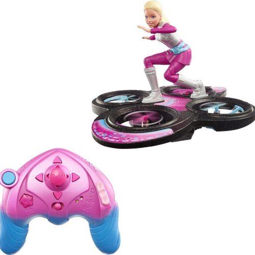Barbie Star Light Avontuur RC Hoverboard - Barbiepop met Drone