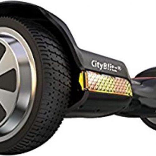 Cityblitz Hoverboard - Zwart/rood
