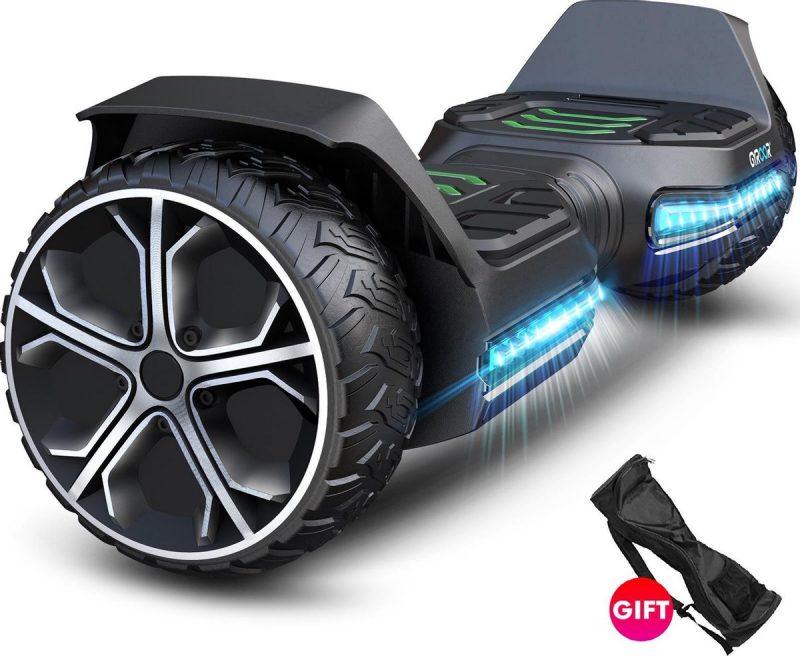Hoverboard   GYROOR G5   6.5 Inch wielen   Self Balance Hoverboard   Bluetooth Speakers   Oxboard   Zwart