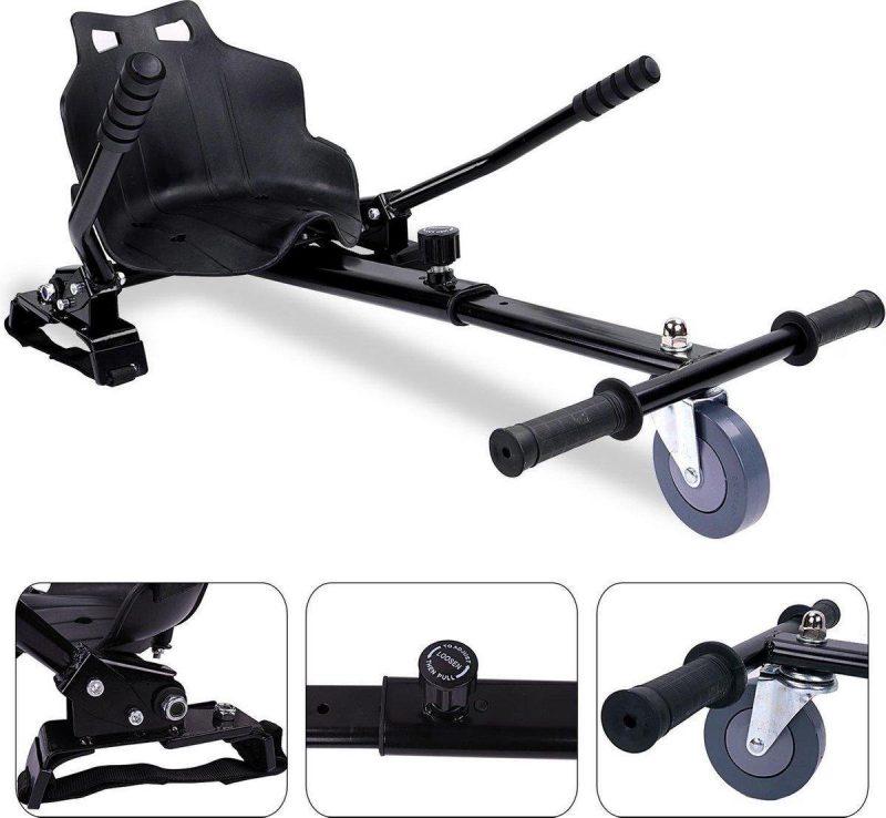 Hoverkart voor Hoverboard   Hoverboard Kart   Hoverboard Go Kart   Zwart