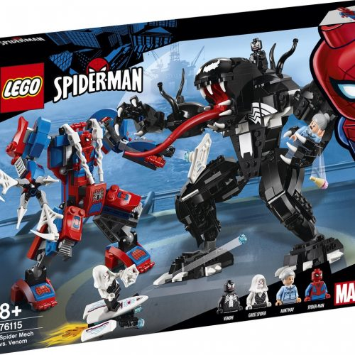 LEGO Marvel Super Heroes Spider Mech vs. Venom